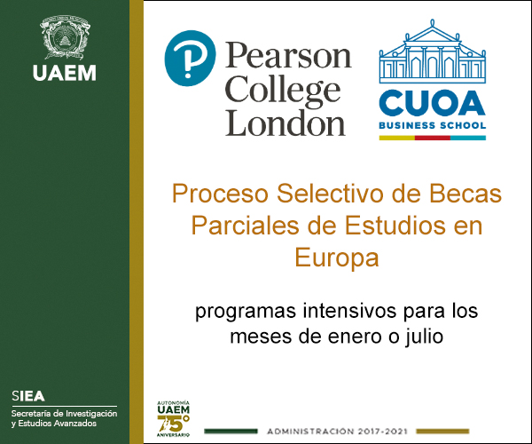 Becas parciales para Europa Pearson Collage London y CUOA Business School