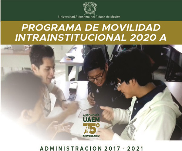 Convocatoria de Movilidad Intrainstitucional 2020A